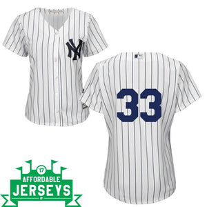 Jose Canseco Home Women's Cool Base Player Jersey - AffordableJerseys.com