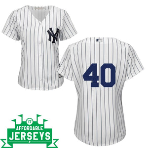Bartolo Colon Home Women's Cool Base Player Jersey - AffordableJerseys.com