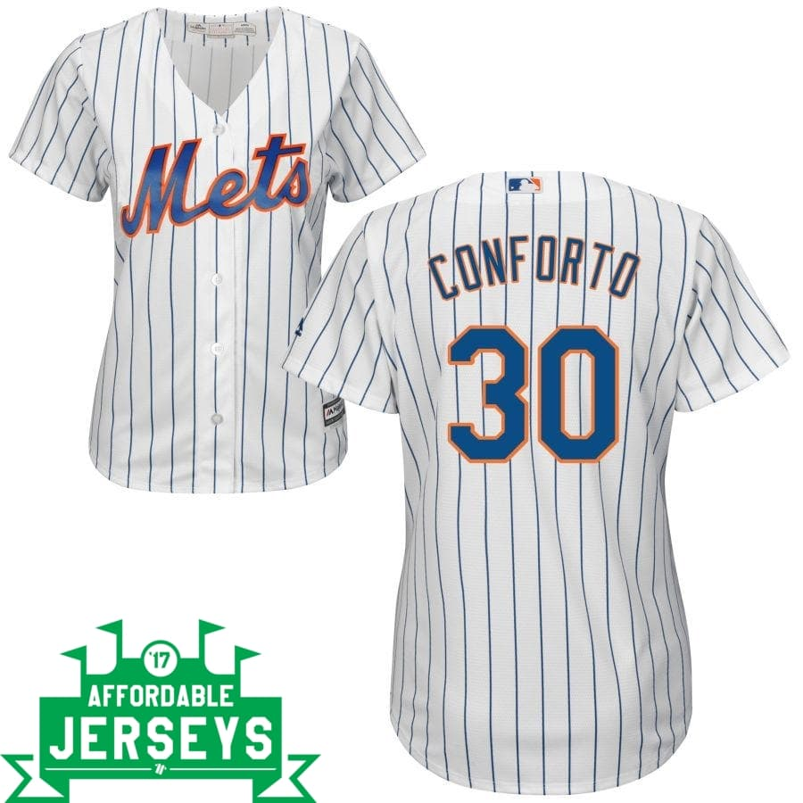 Michael Conforto Home Women's Cool Base Player Jersey - AffordableJerseys.com