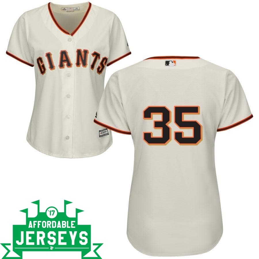 Brandon Crawford Home Women's Cool Base Player Jersey