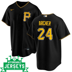 Chris Archer Alternate Nike Replica Player Jersey - AffordableJerseys.com
