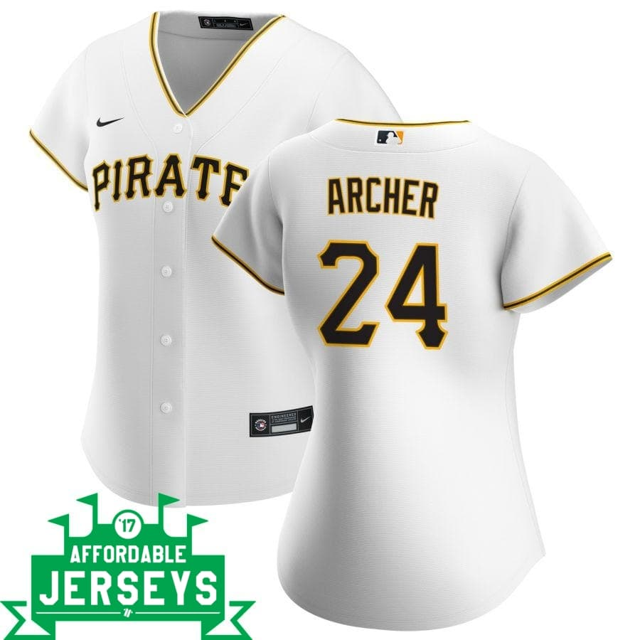 Chris Archer Home Women's Nike Replica Player Jersey - AffordableJerseys.com
