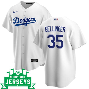 Cody Bellinger Home Nike Replica Player Jersey - AffordableJerseys.com