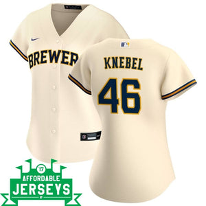 Corey Knebel Home Women's Nike Replica Player Jersey - AffordableJerseys.com