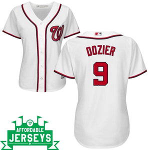 Brian Dozier Home Women's Cool Base Player Jersey - AffordableJerseys.com