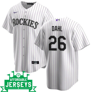 David Dahl Home Nike Replica Player Jersey - AffordableJerseys.com