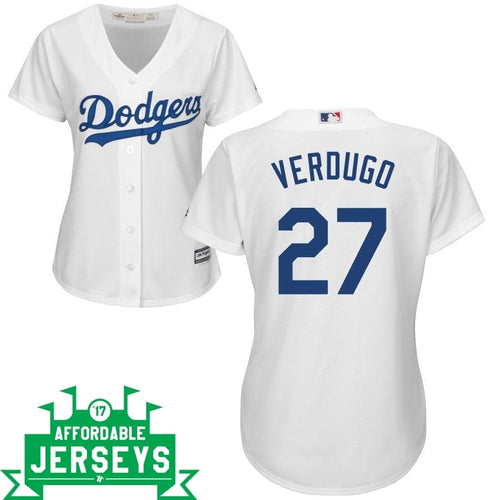 Alex Verdugo Home Women's Cool Base Player Jersey - AffordableJerseys.com