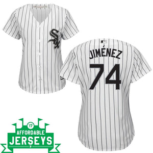 Eloy Jiménez Home Women's Cool Base Player Jersey