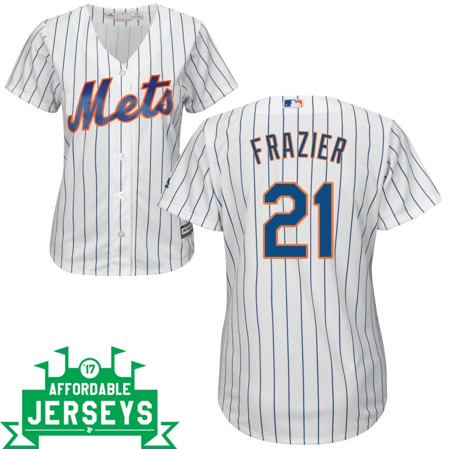 Todd Frazier Home Women's Cool Base Player Jersey