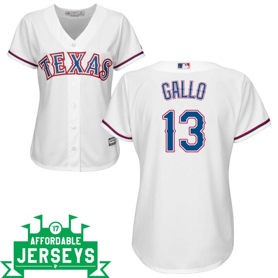 Joey Gallo Home Women's Cool Base Player Jersey - AffordableJerseys.com