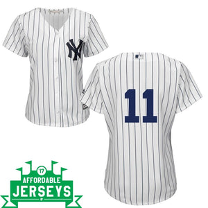 Brett Gardner Home Women's Cool Base Player Jersey