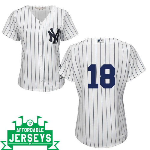Didi Gregorius Home Women's Cool Base Player Jersey - AffordableJerseys.com