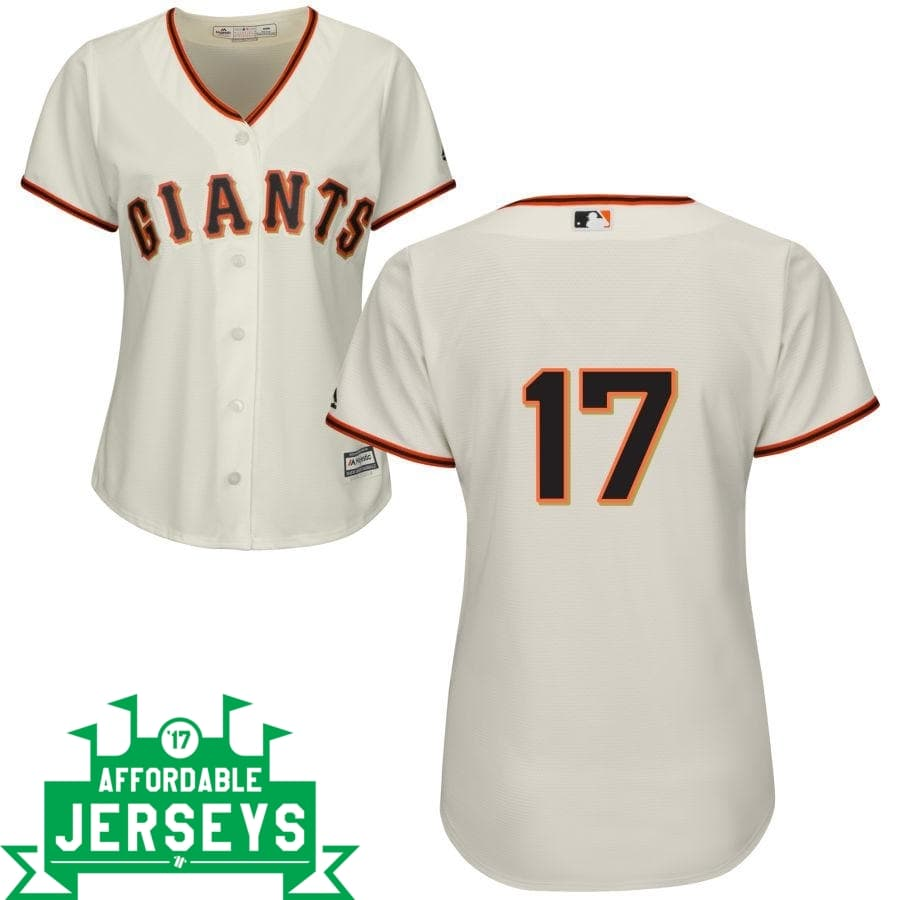 Aubrey Huff Home Women's Cool Base Player Jersey - AffordableJerseys.com