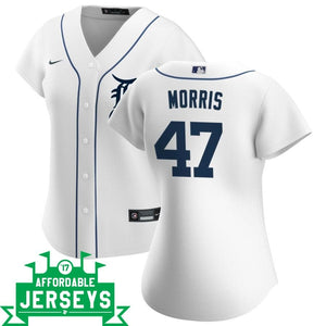 Jack Morris Home Women's Nike Replica Player Jersey - AffordableJerseys.com
