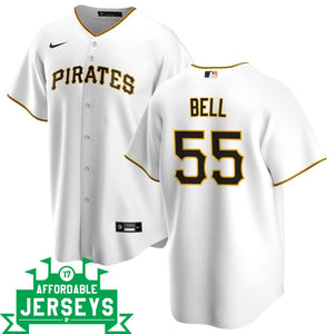 Josh Bell Home Nike Replica Player Jersey - AffordableJerseys.com