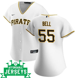 Josh Bell Home Women's Nike Replica Player Jersey - AffordableJerseys.com