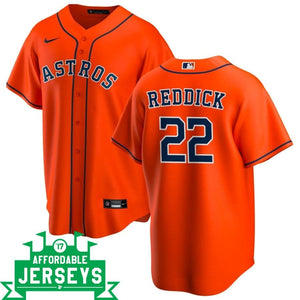 Josh Reddick Alternate Nike Replica Player Jersey - AffordableJerseys.com
