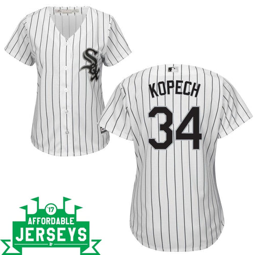 Michael Kopech Home Women's Cool Base Player Jersey - AffordableJerseys.com