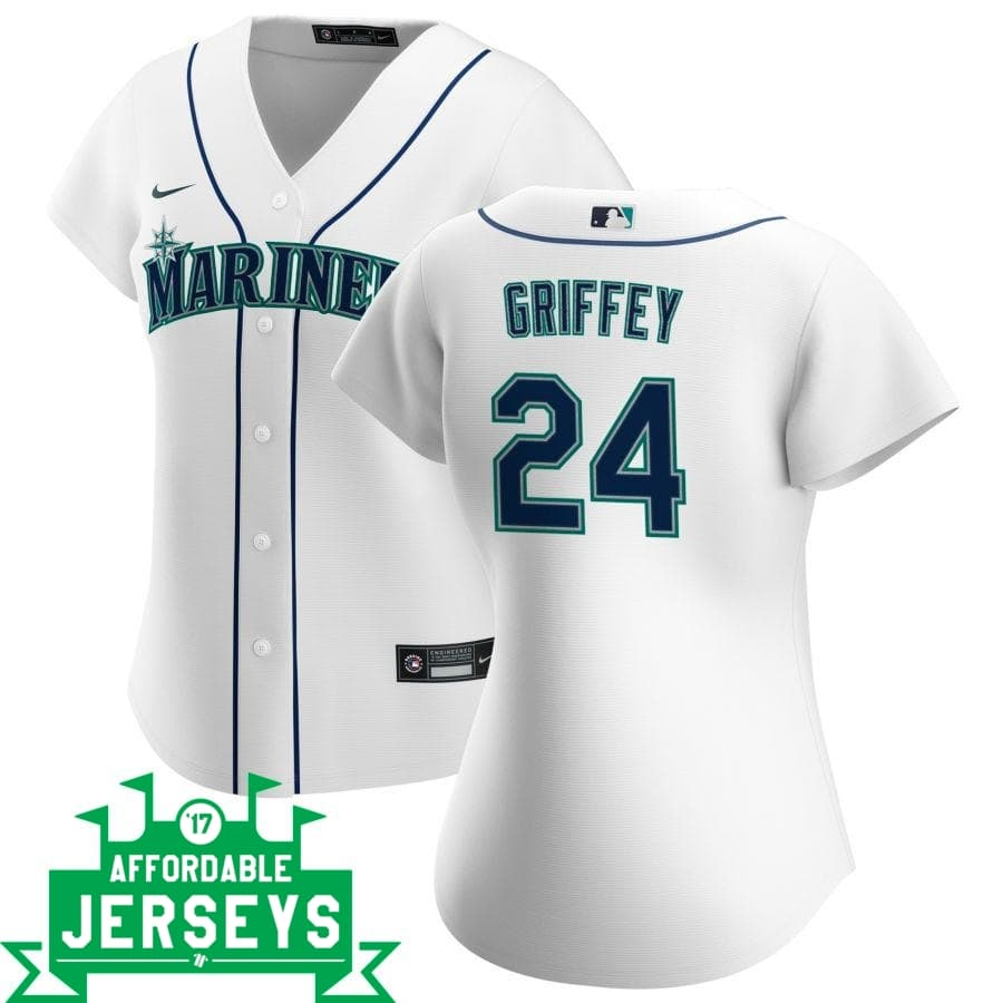 Ken Griffey Home Women's Nike Replica Player Jersey - AffordableJerseys.com