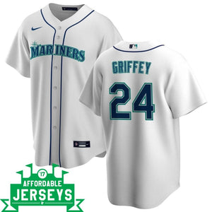 Ken Griffey Home Nike Replica Player Jersey - AffordableJerseys.com