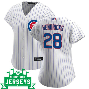 Kyle Hendricks Home Women's Nike Replica Player Jersey - AffordableJerseys.com