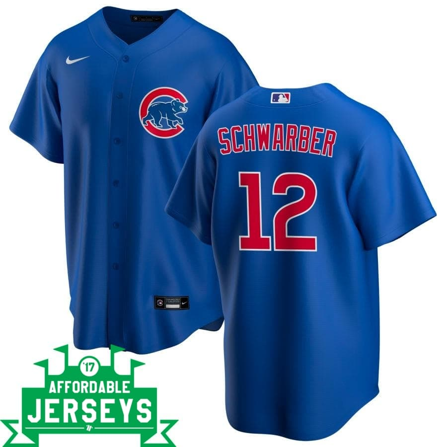 Kyle Schwarber Alternate Nike Replica Player Jersey - AffordableJerseys.com