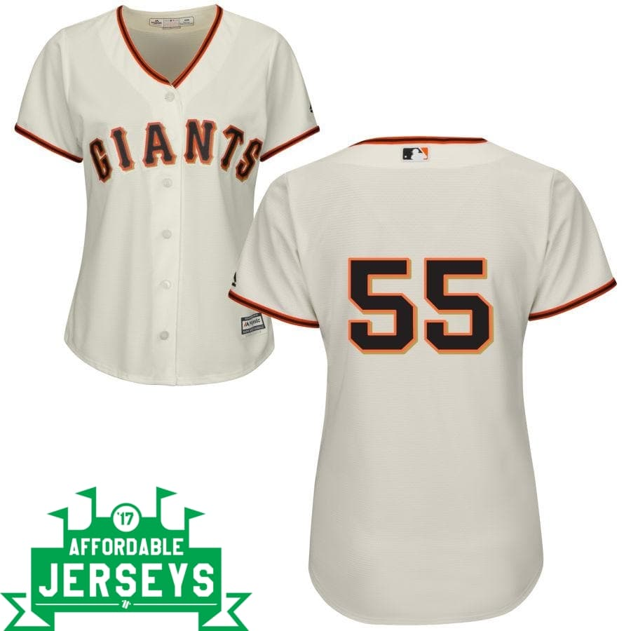 Tim Lincecum Home Women's Cool Base Player Jersey - AffordableJerseys.com