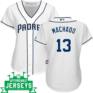 Manny Machado Home Women's Cool Base Player Jersey