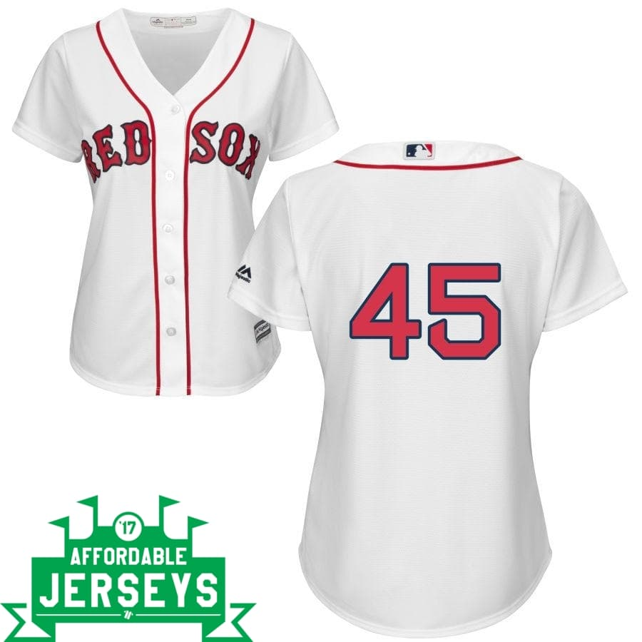 Pedro Martinez Home Women's Cool Base Player Jersey - AffordableJerseys.com