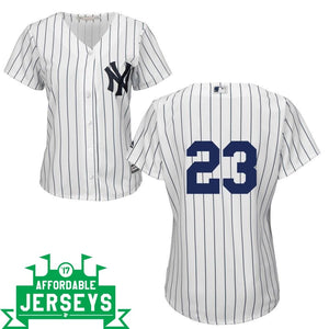 Don Mattingly Home Women's Cool Base Player Jersey - AffordableJerseys.com
