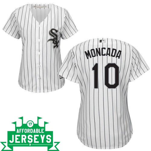 Yoan Moncada Home Women's Cool Base Player Jersey