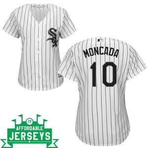 Yoan Moncada Home Women's Cool Base Player Jersey - AffordableJerseys.com