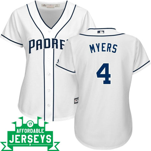 Wil Myers Home Women's Cool Base Player Jersey - AffordableJerseys.com