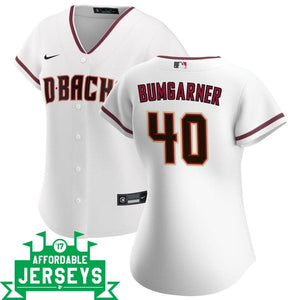 Madison Bumgarner Home Women's Nike Replica Player Jersey - AffordableJerseys.com