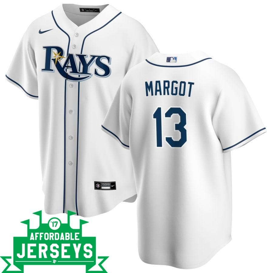 Manuel Margot Home Nike Replica Player Jersey - AffordableJerseys.com