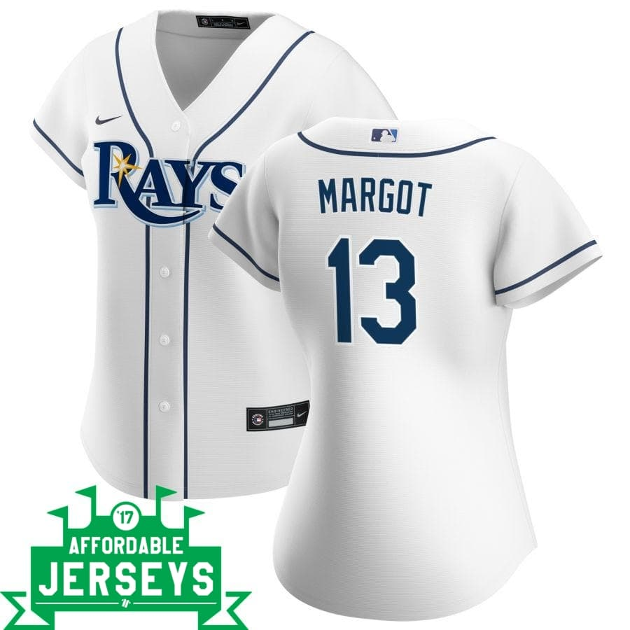 Manuel Margot Home Women's Nike Replica Player Jersey - AffordableJerseys.com