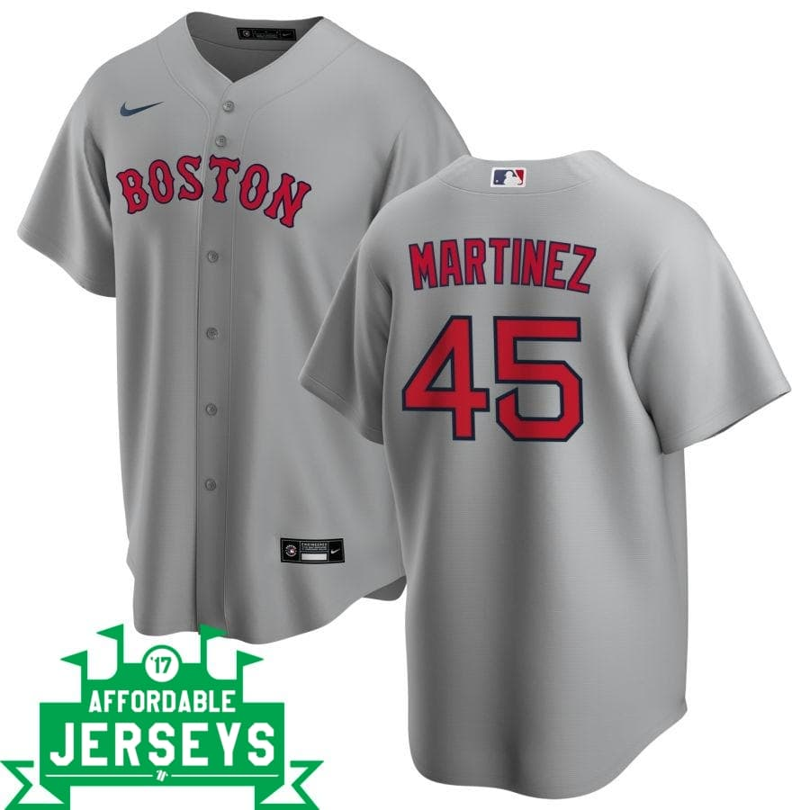 Pedro Martinez Road Nike Replica Player Jersey - AffordableJerseys.com