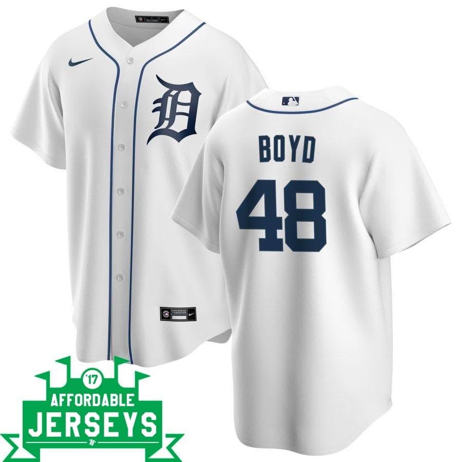 Matt Boyd Home Nike Replica Player Jersey - AffordableJerseys.com