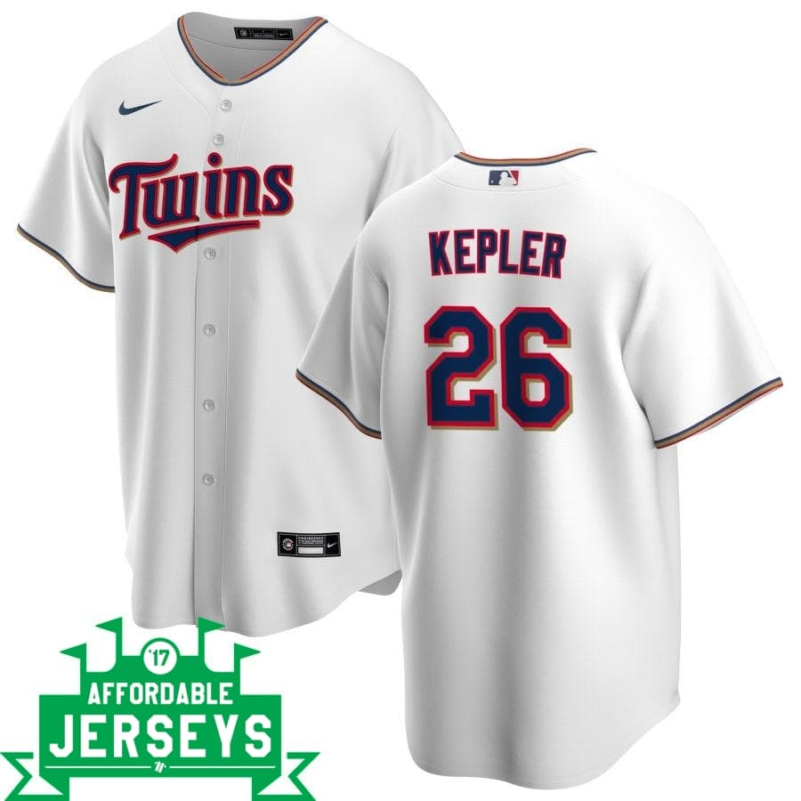 Max Kepler Home Nike Replica Player Jersey - AffordableJerseys.com