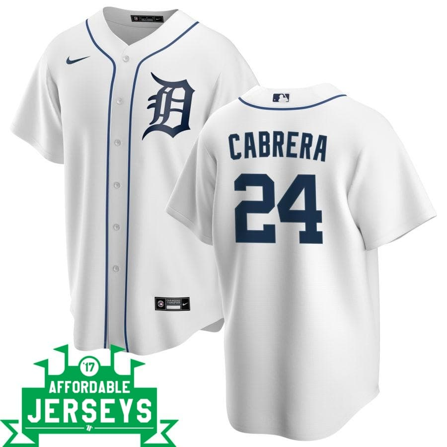 Miguel Cabrera Home Nike Replica Player Jersey - AffordableJerseys.com