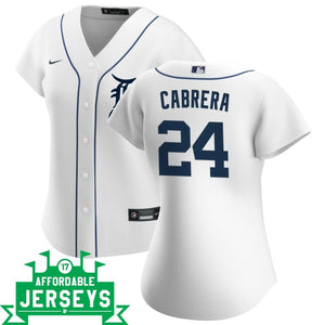 Miguel Cabrera Home Women's Nike Replica Player Jersey - AffordableJerseys.com