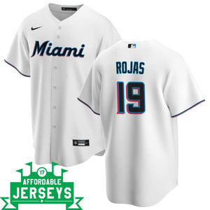 Miguel Rojas Home Nike Replica Player Jersey - AffordableJerseys.com