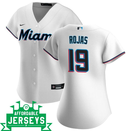 Miguel Rojas Home Women's Nike Replica Player Jersey - AffordableJerseys.com