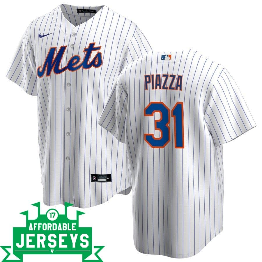 Mike Piazza Home Nike Replica Player Jersey - AffordableJerseys.com