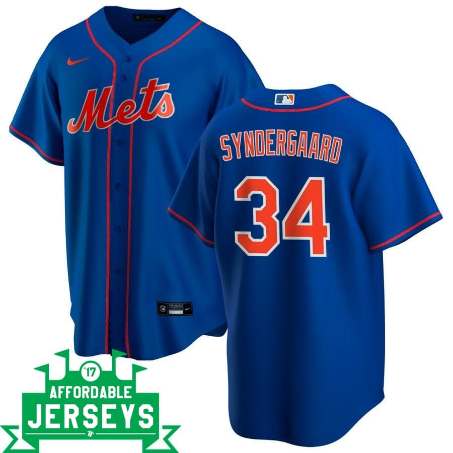 Noah Syndergaard Alternate Nike Replica Player Jersey - AffordableJerseys.com