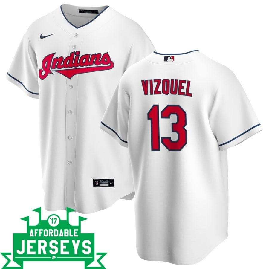 Omar Vizquel Home Nike Replica Player Jersey - AffordableJerseys.com