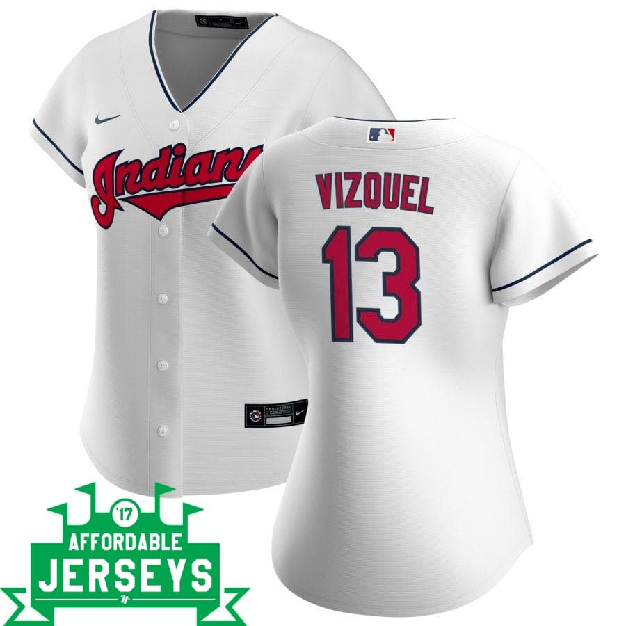 Omar Vizquel Home Women's Nike Replica Player Jersey - AffordableJerseys.com
