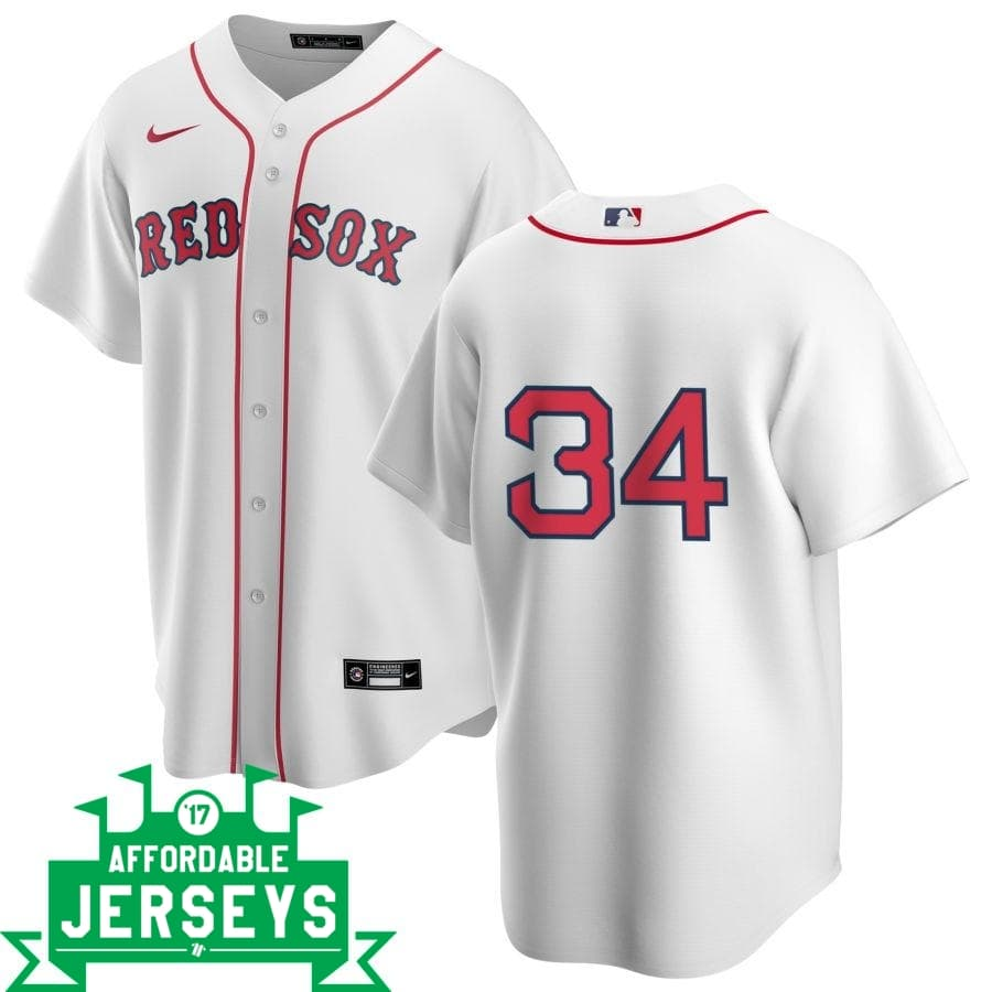 David Ortiz Home Nike Replica Player Jersey