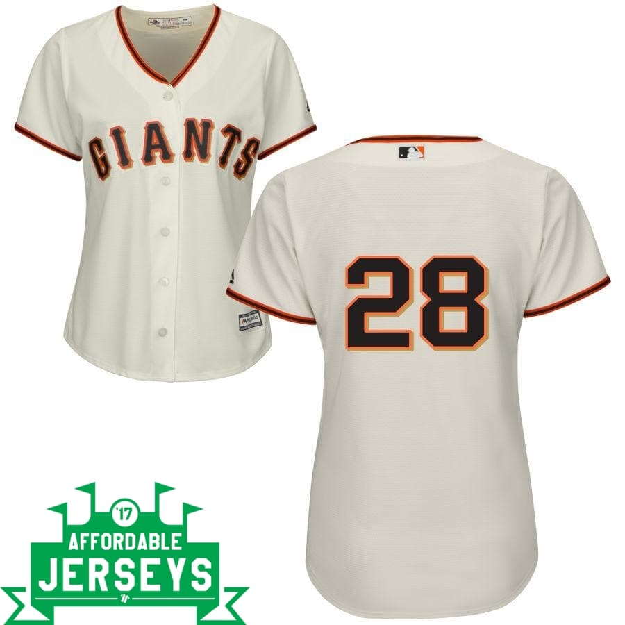 Buster Posey Home Women's Cool Base Player Jersey - AffordableJerseys.com
