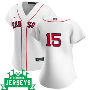 Dustin Pedroia Home Women's Nike Replica Player Jersey - AffordableJerseys.com
